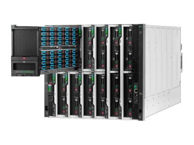 HPE Synergy 12000 Frame w 1x Frame Link Module, 2xPS, 10 Fans, 797738-B21, 31849314, Network Routers