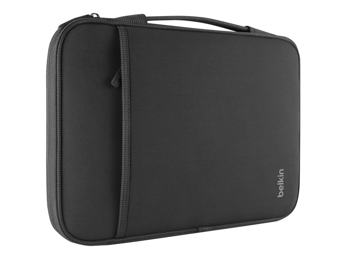 Belkin 14 Sleeve for Chromebook, Ultrabook, Macbook Air, Black, B2B075-C00