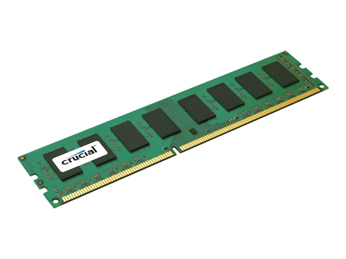 Crucial 4GB PC3-12800 240-pin DDR3 SDRAM DIMM, CT51264BA160B, 14514432, Memory