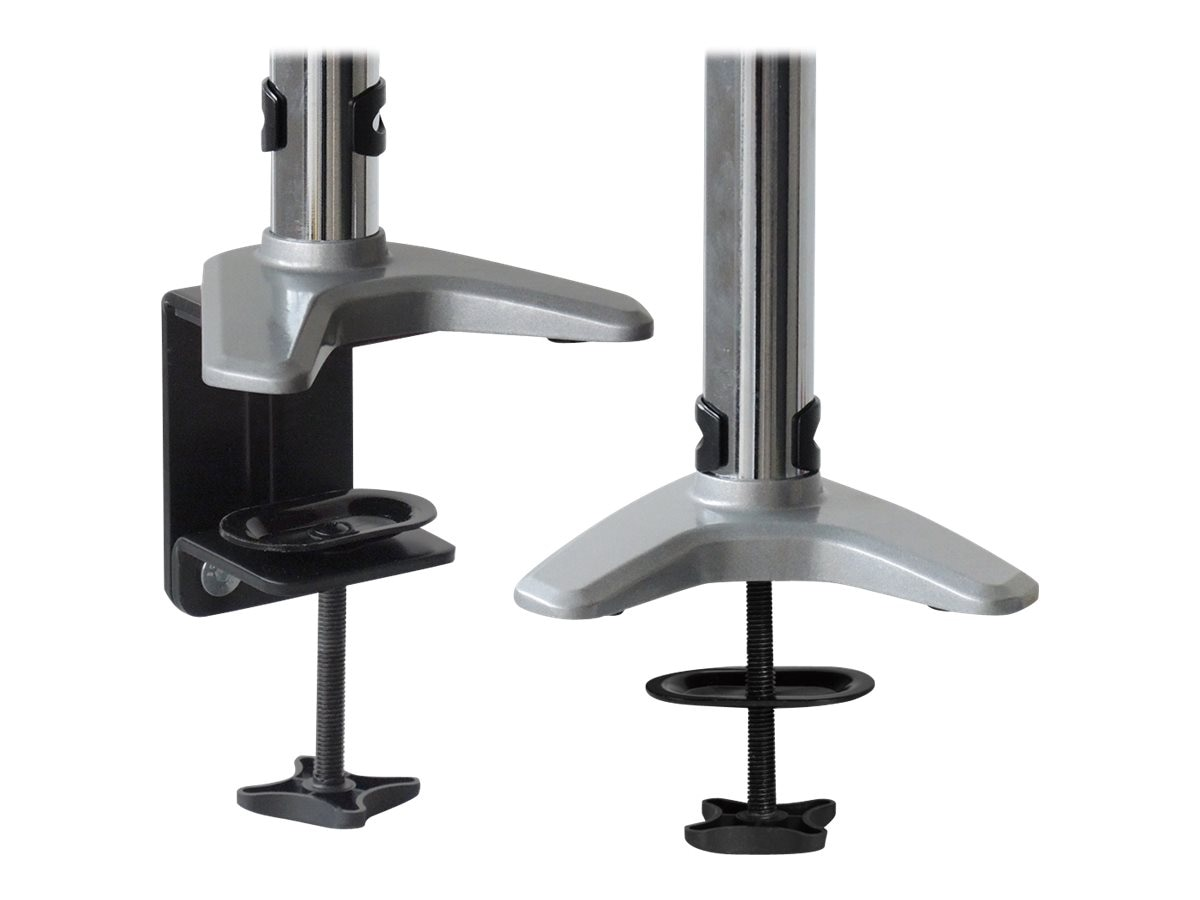 Siig Full-Motion Easy Access Single Monitor Desk Mount, Silver, CE-MT1J12-S1