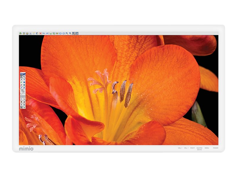 Mimio 65 650T Full HD LED-LCD Touchscreen Display, Black, 1891601, 18559478, Monitors - Large-Format LED-LCD
