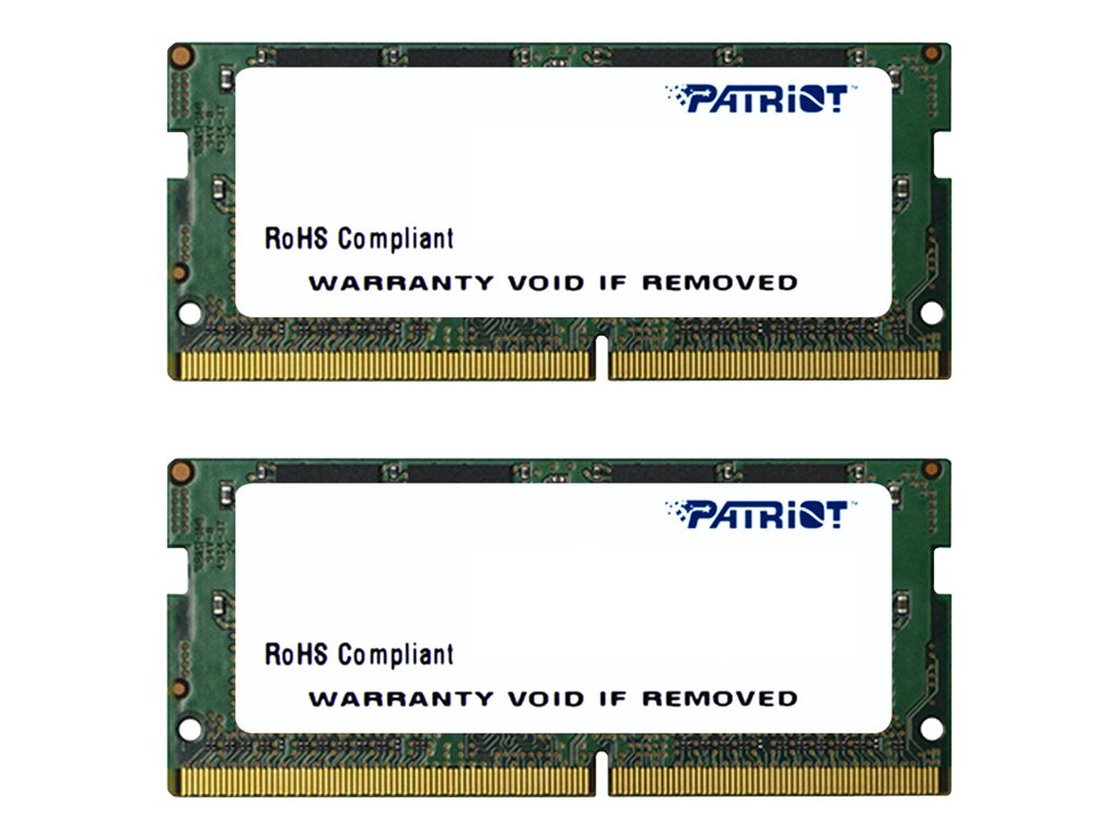 Patriot Memory 32GB PC4-17000 260-pin DDR4 SDRAM SODIMM Kit