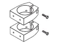 Ergotron Aluminum Pole Mount Brackets (Set of 2)