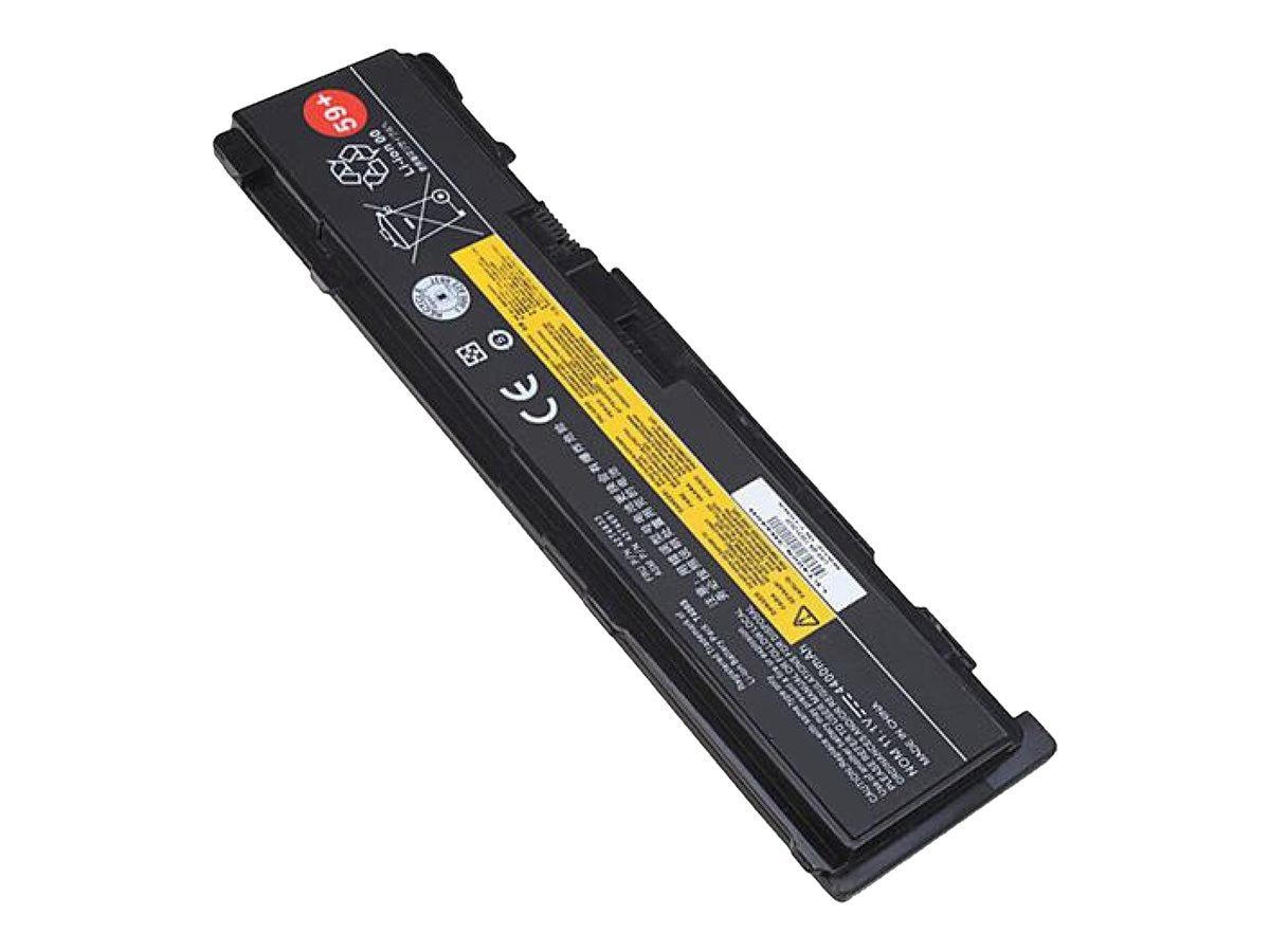 Ereplacements 6-Cell Battery for Lenovo ThinkPad, 51J0497-ER, 21163896, Batteries - Notebook