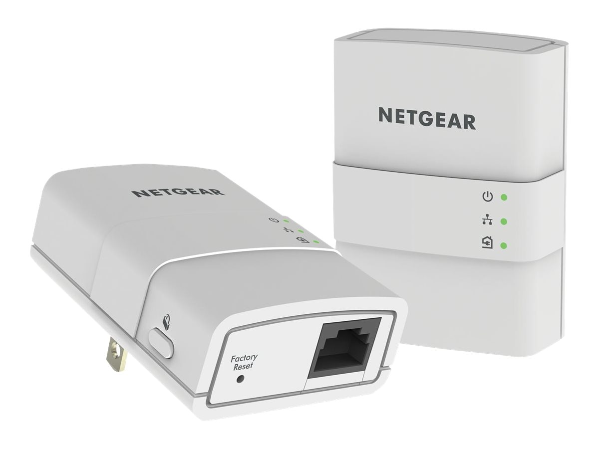 Netgear Powerline 500 Bundle 2 1Port, XAVB5221-100PAS, 18023112, Network Starter Kits