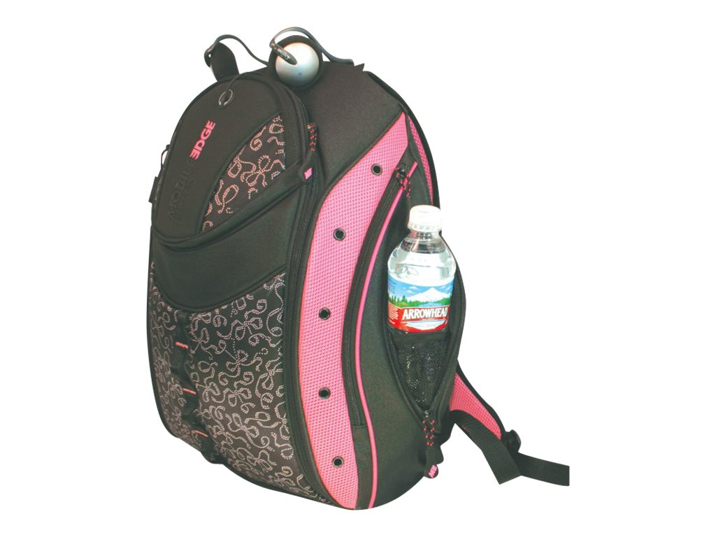 Mobile Edge Women's Express Backpack, Pink Ribbon, MEBPEX1, 8490964, Carrying Cases - Notebook