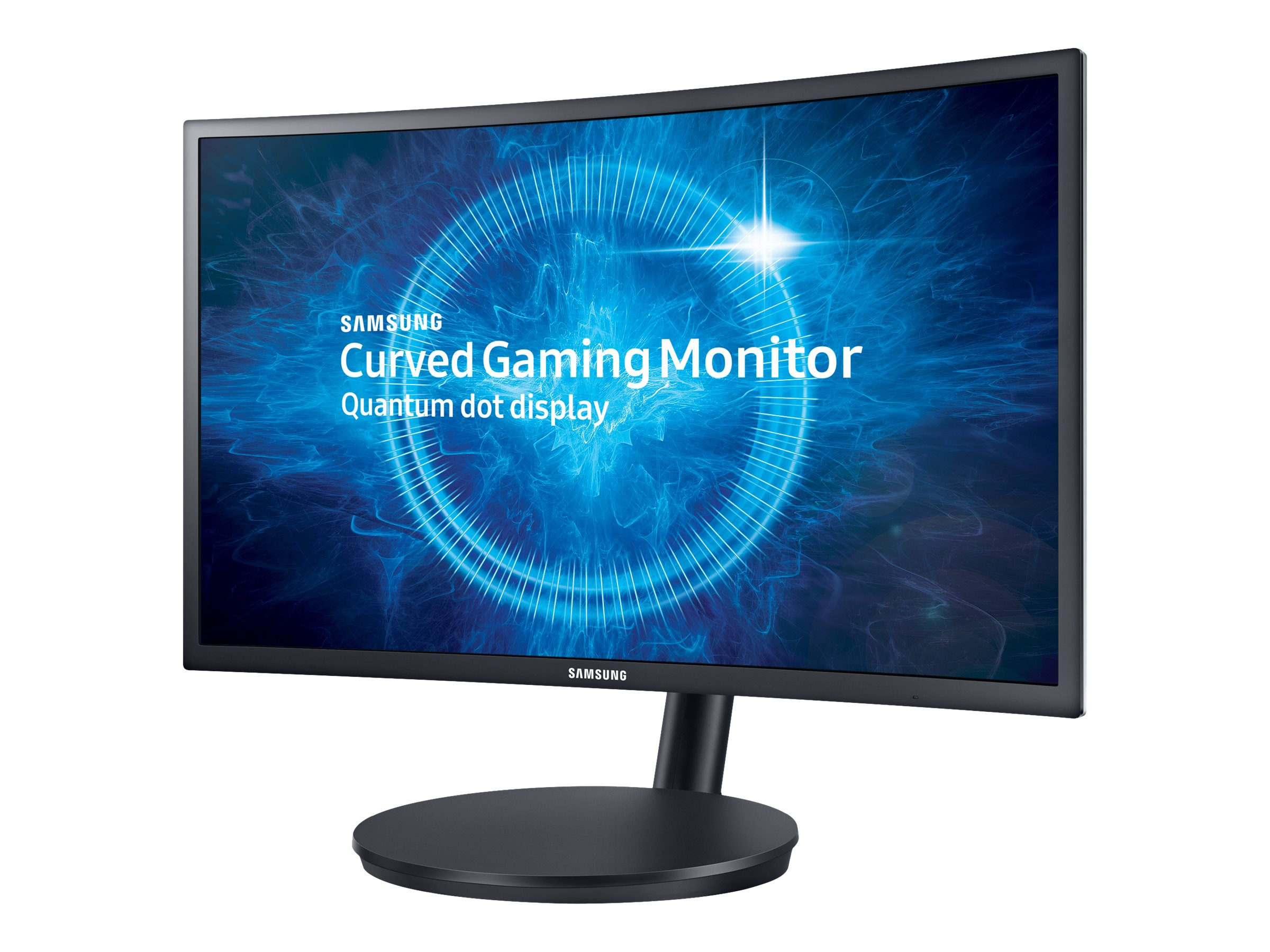 Samsung 24 CFG70 Full HD LED Curved Gaming Monitor, Black, LC24FG70FQNXZA