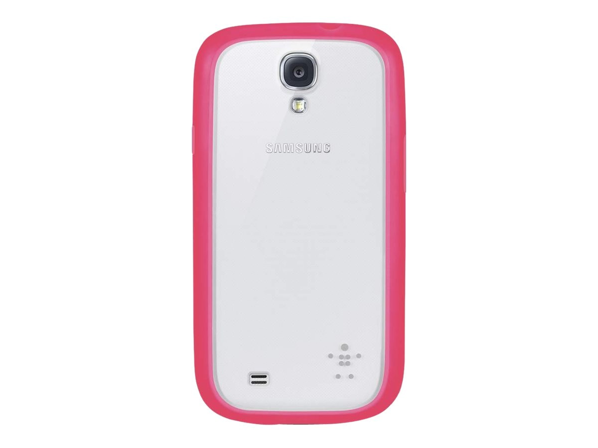 Belkin View Case for Samsung Galaxy S4, Clear Sorbet, F8M565BTC02, 15961111, Carrying Cases - Phones/PDAs