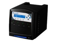Vinpower 1:3 SDShark Copy Tower SD MicroSD Duplicator, SDSHARK-3T-BK, 15125720, Storage Drive & Media Duplicators
