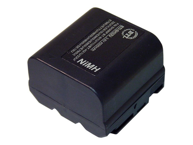 BTI Battery, NiMH, 3.6V, 2800mAh, for Sharp VL-AH30U, VLA10U, VL-AH50U, VL-E33, More, SH32U, 7927811, Batteries - Camera