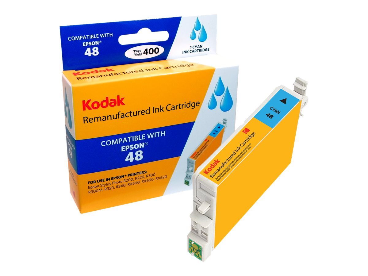 Kodak T048220 Cyan Ink Cartridge for Epson Stylus R200, T048220-KD