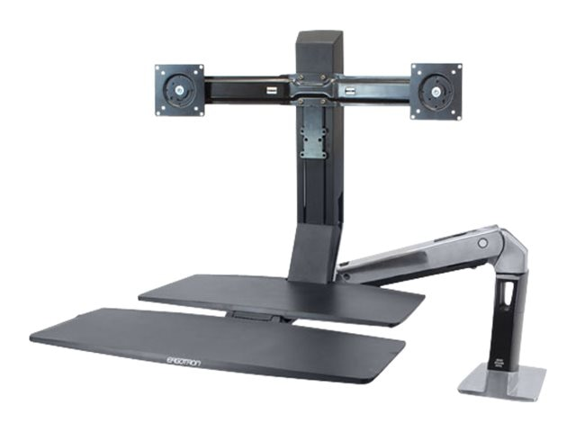 Ergotron WorkFit-A, Dual with Worksurface+, 24-316-026, 15559085, Ergonomic Products