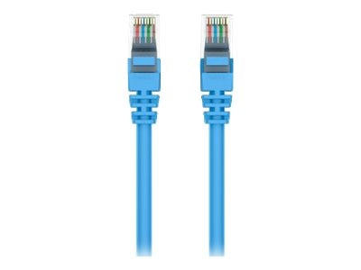 Belkin Cat6 UTP Patch Cable, Blue, Snagless, 20ft, A3L980-20-BLU-S