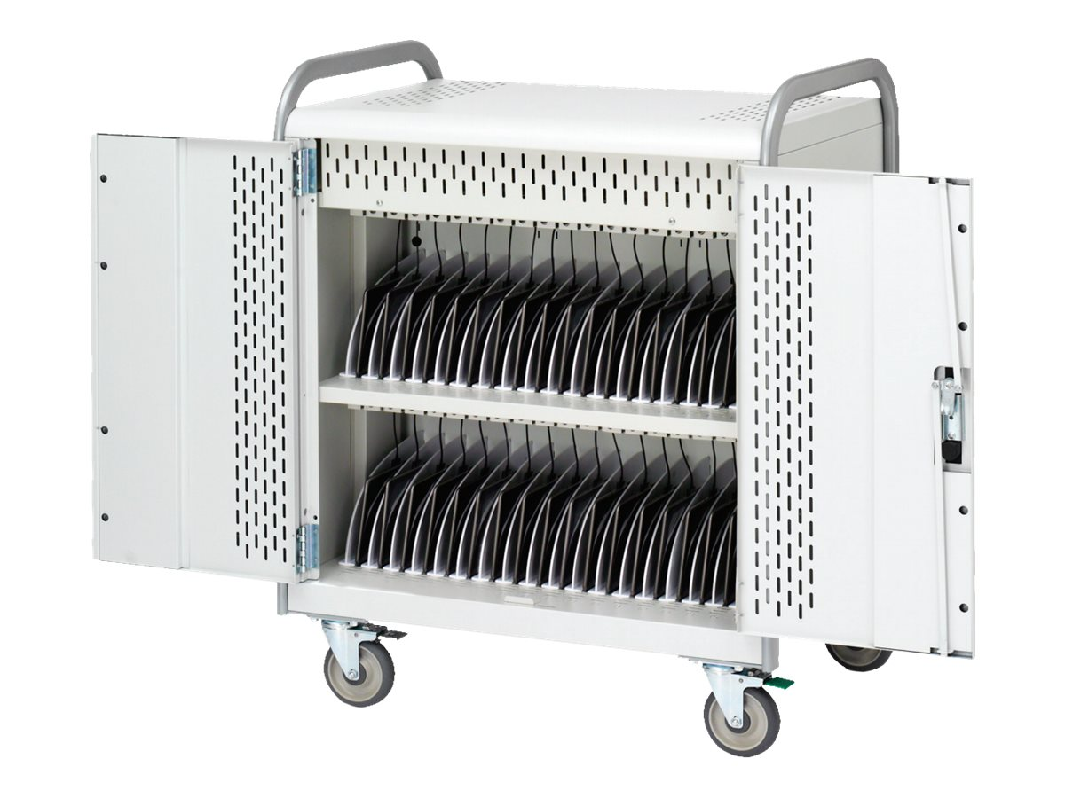 Bretford Manufacturing 36-Unit Pulse 30S Charging Cart, MDMTAB36-90D, 17940883, Computer Carts