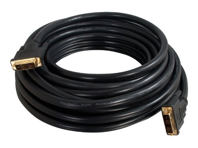 C2G Pro Series DVI-D CL2 (M-M) Single Link Digital Video Cable, 10ft