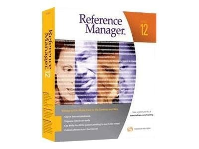 ISI Reference Manager 12.0 for Student Use Only, 6412, 9174411, Software - Reference Tools