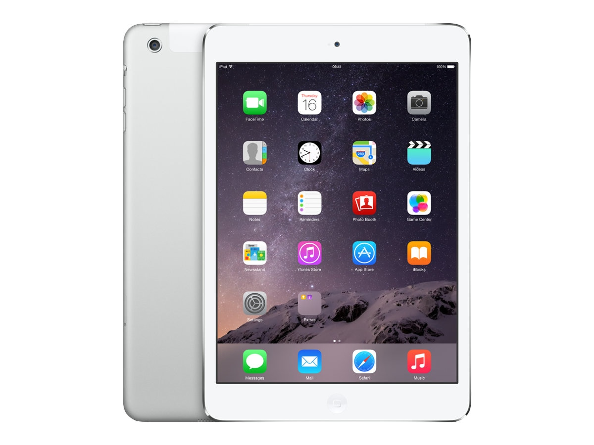 Apple iPad mini 2 Wi-Fi+Cellular for Verizon 32GB - Silver, MF084LL/A