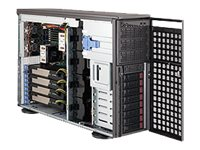 Supermicro 4U Tower Chassis, eATX, DP, 1400W RPSU, CSE-747TG-R1400B-SQ, 10798458, Cases - Systems/Servers