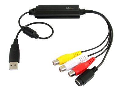 StarTech.com USB S-Video & Composite Audio Video Capture Cable with TWAIN Support
