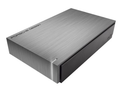 Lacie 4TB Porsche Design P9320 USB 3.0 External Hard Drive, LAC9000384, 28664263, Hard Drives - External