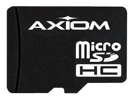 Axiom 4GB MicroSDHC Flash Memory Card, Class 4, MSDHC4/4GB-AX, 14499341, Memory - Flash