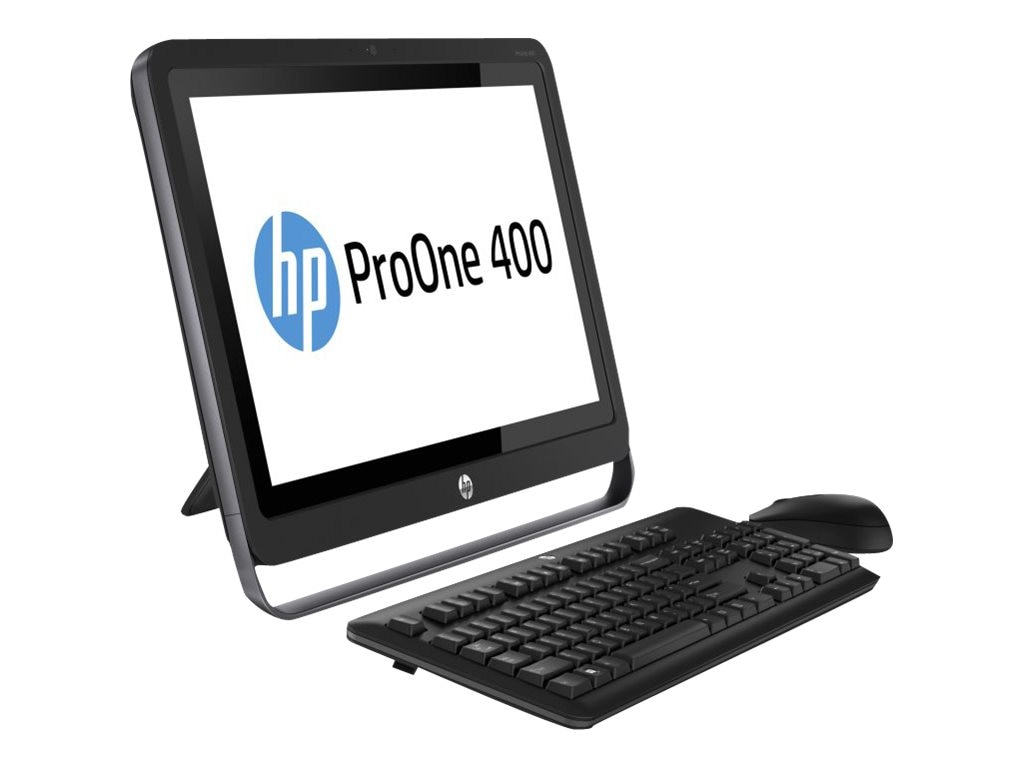 Scratch & Dent HP ProOne 400 G1 AIO Core i3-4360T 3.2GHz 4GB 500GB GbE abgn BT WC 21.5 HD Touch W7P64-W8.1P, K1K31UT#ABA, 30943157, Desktops - All-in-One