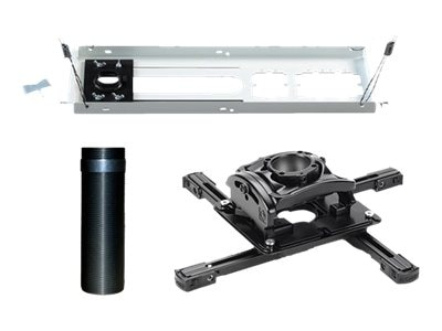 Chief Manufacturing Universal Projector Mount, 6 Extension Column, Lightweight Suspended Ceiling Kit, Black, KITEZ006
