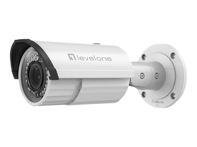 CP Technologies 5MP PoE Fixed Outdoor Network Camera with 2.8-12mm Lens