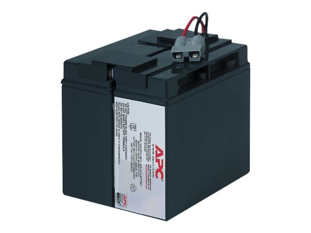 APC Replacement Battery Cartridge #7 for SU1000XL, SU1400, SU1400NET, SUA1500, SMT1500 models, RBC7, 56621, Batteries - Other