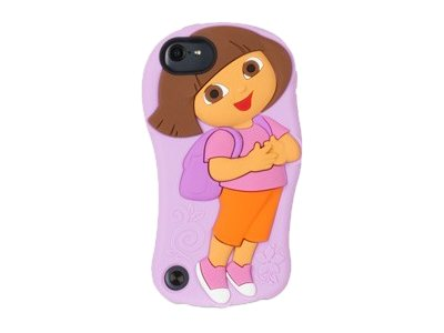 Griffin DoraTheExplorer Skin Touch 5G, GB36443, 16232818, Carrying Cases - iPod