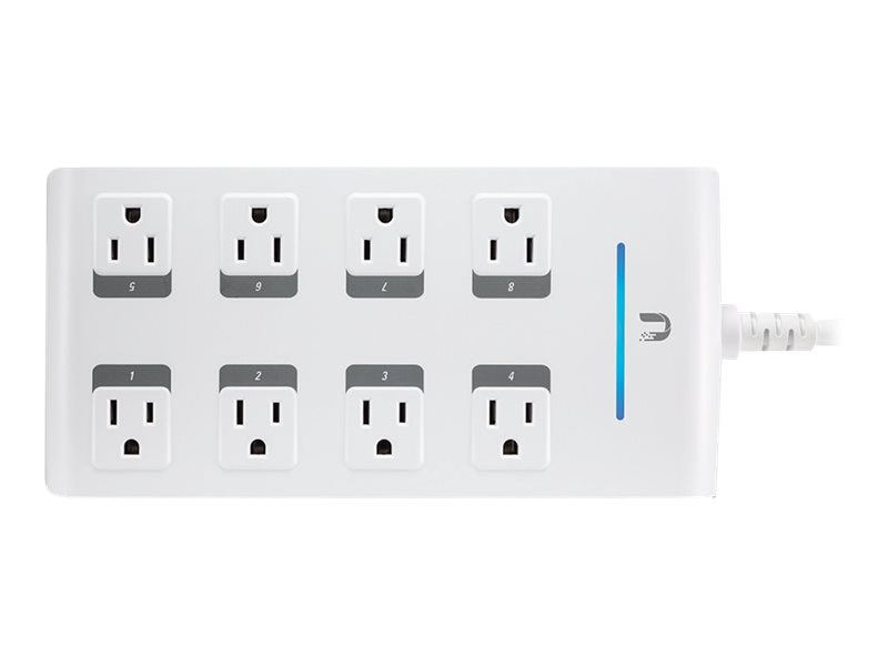 Ubiquiti mFi Controllable 8-Port Power Outlet, MPOWER-PRO, 18032650, Home Automation