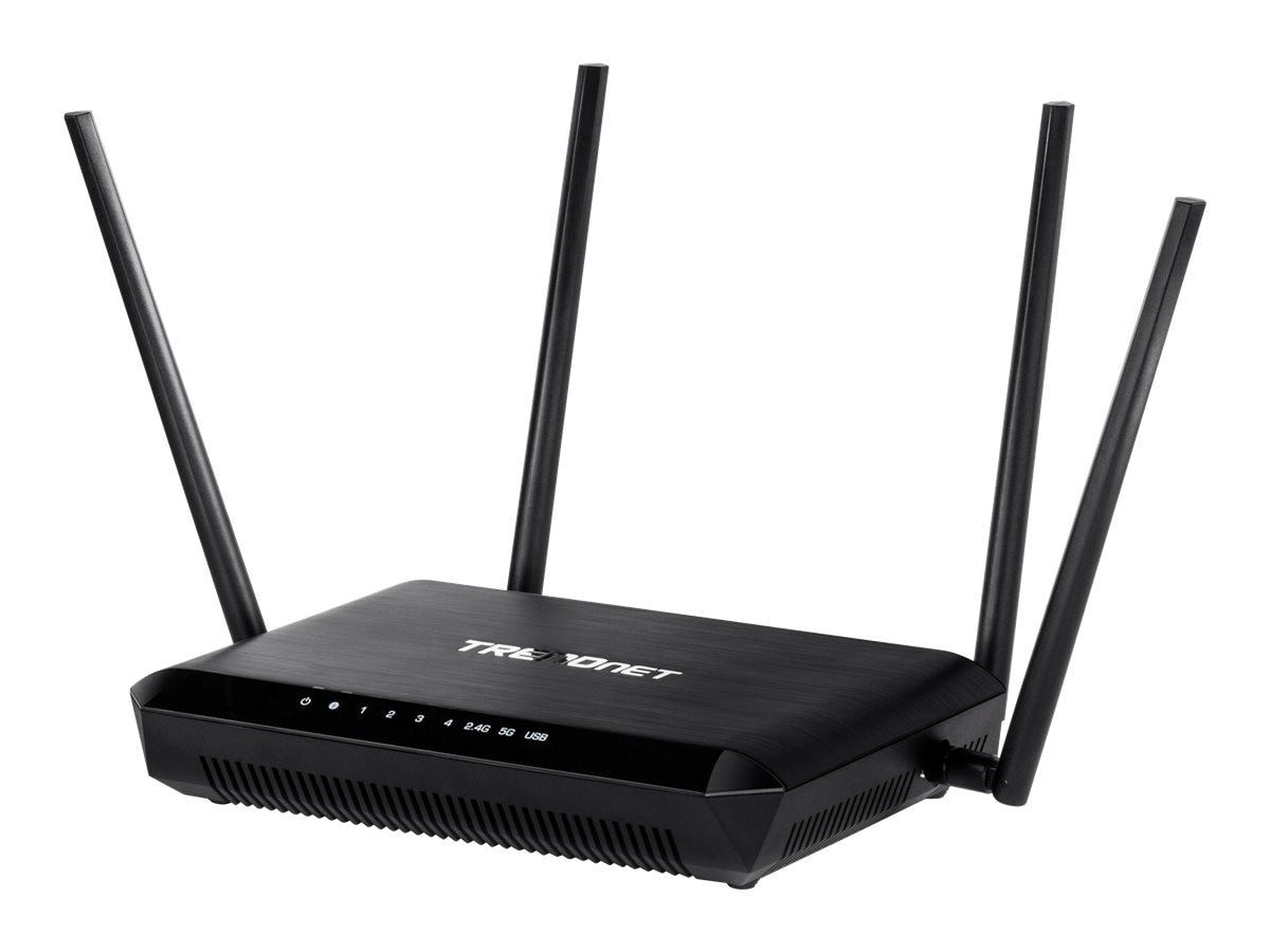 TRENDnet AC2600 StreamBoost MU-MIMO WiFi Router
