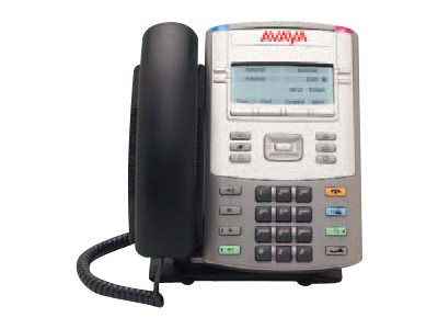 Avaya 1120E IP Deskphone - Graphite with English keycaps no power, NTYS03BFGS