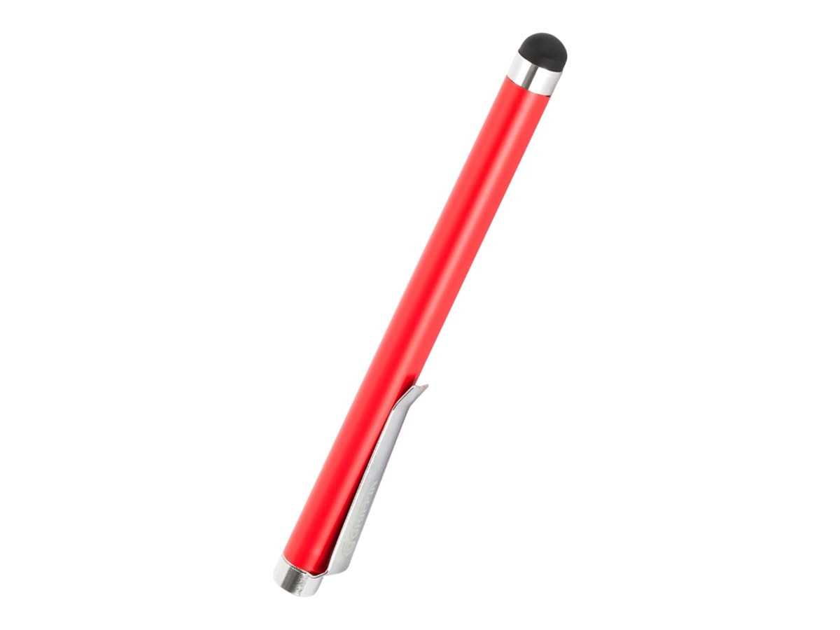 Griffin Stylus for Capacitive Touchscreens, Poppy, GC35035-2, 15301236, Pens & Styluses