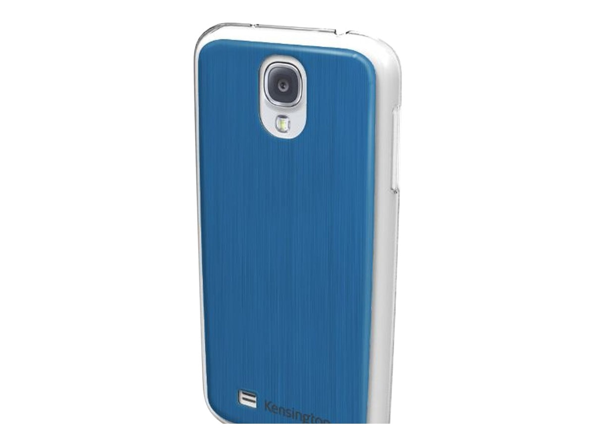 Kensington Aluminum Finish Case for Samsung Galaxy S 4, Blue, K44417WW, 15728029, Carrying Cases - Phones/PDAs