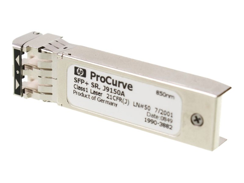 HPE X132 10G SFP+ LC SR Transceiver, J9150A, 9437292, Network Transceivers