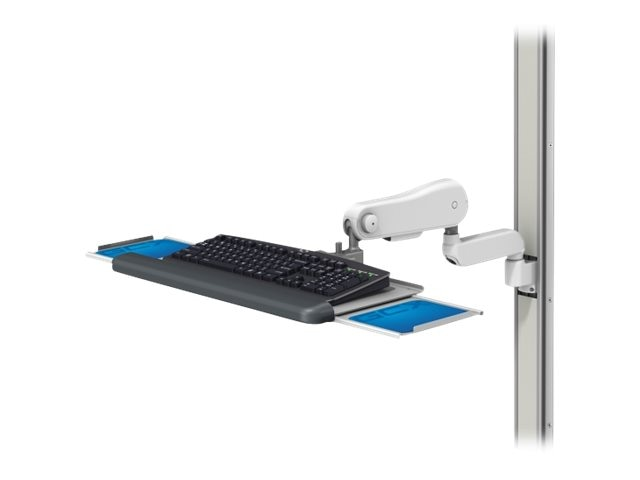 GCX VHM-25 Workstation Variable Height Arm Channel Mount, WS-0008-07, 17511931, Cart & Wall Station Accessories