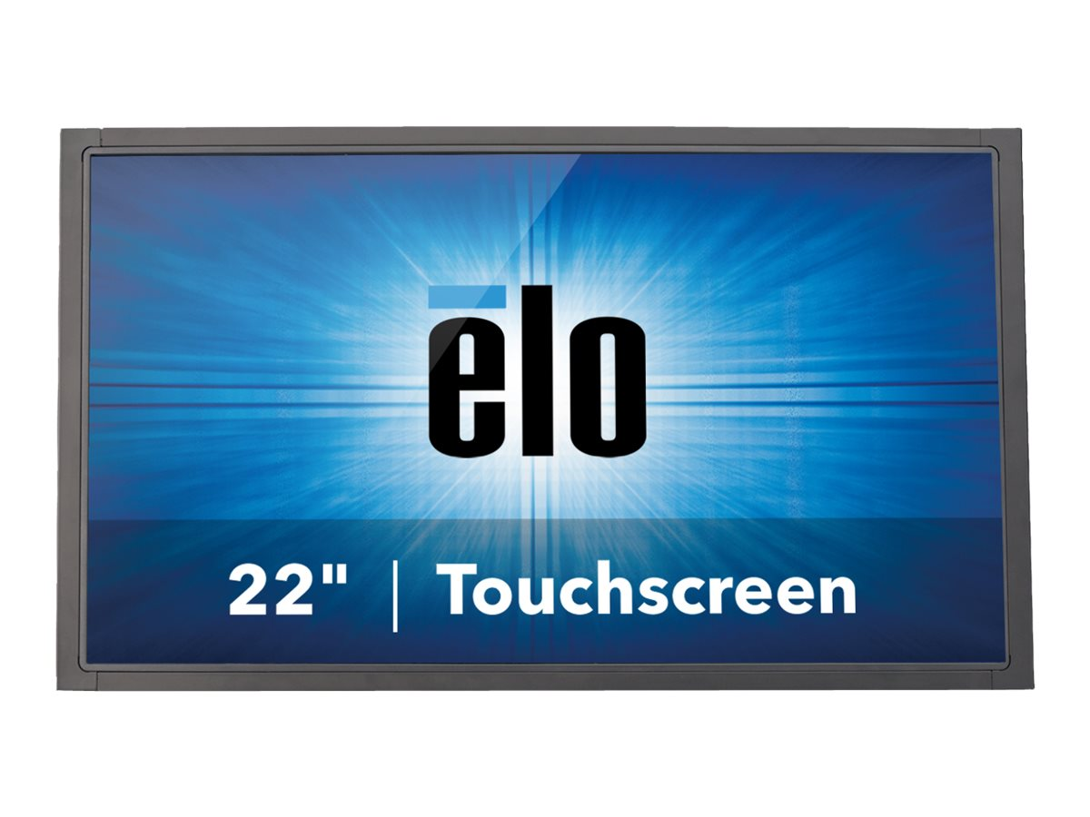 ELO Touch Solutions 21.5 2244L LED-LCD Projected Capacitive Touch Monitor, Black