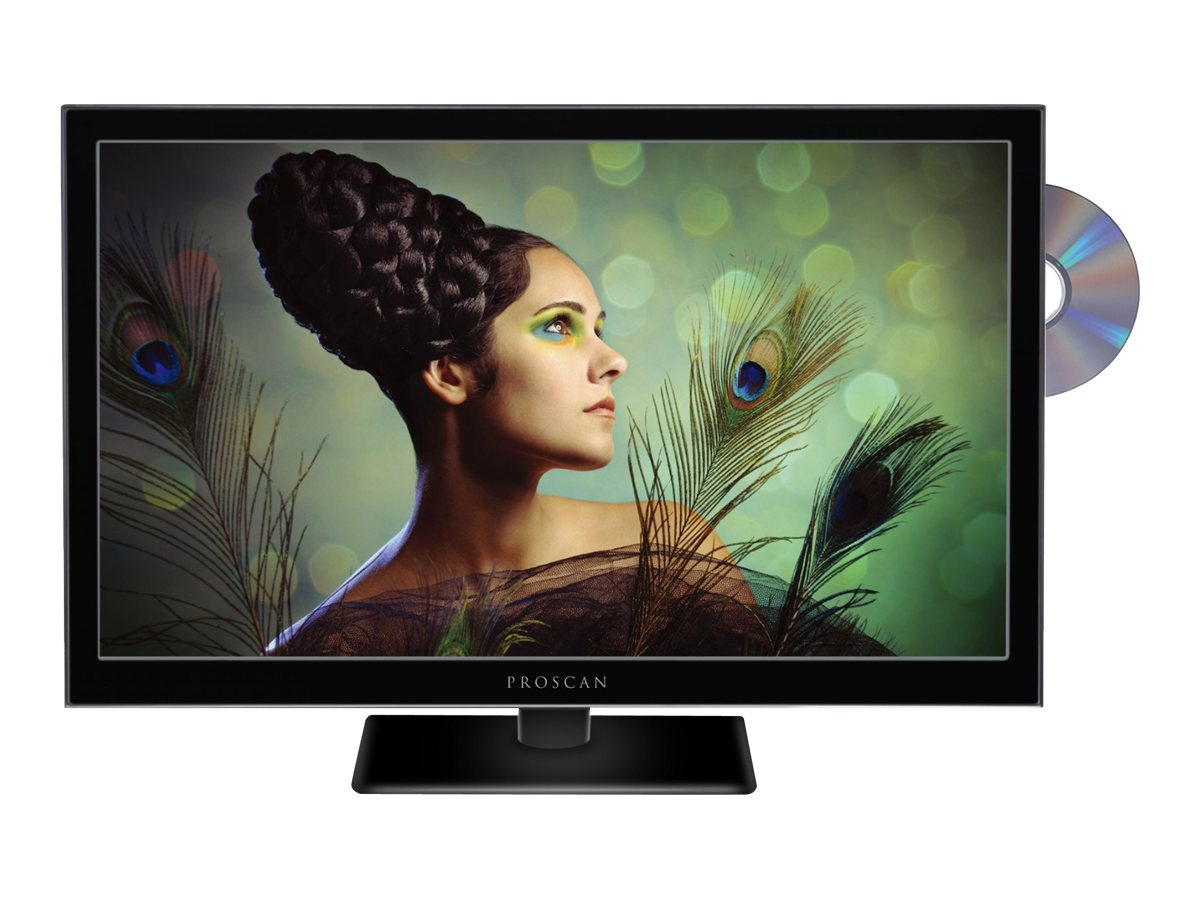 Proscan 24 PLEDV2488A LED-LCD TV with Built-in DVD Player, PLEDV2488A