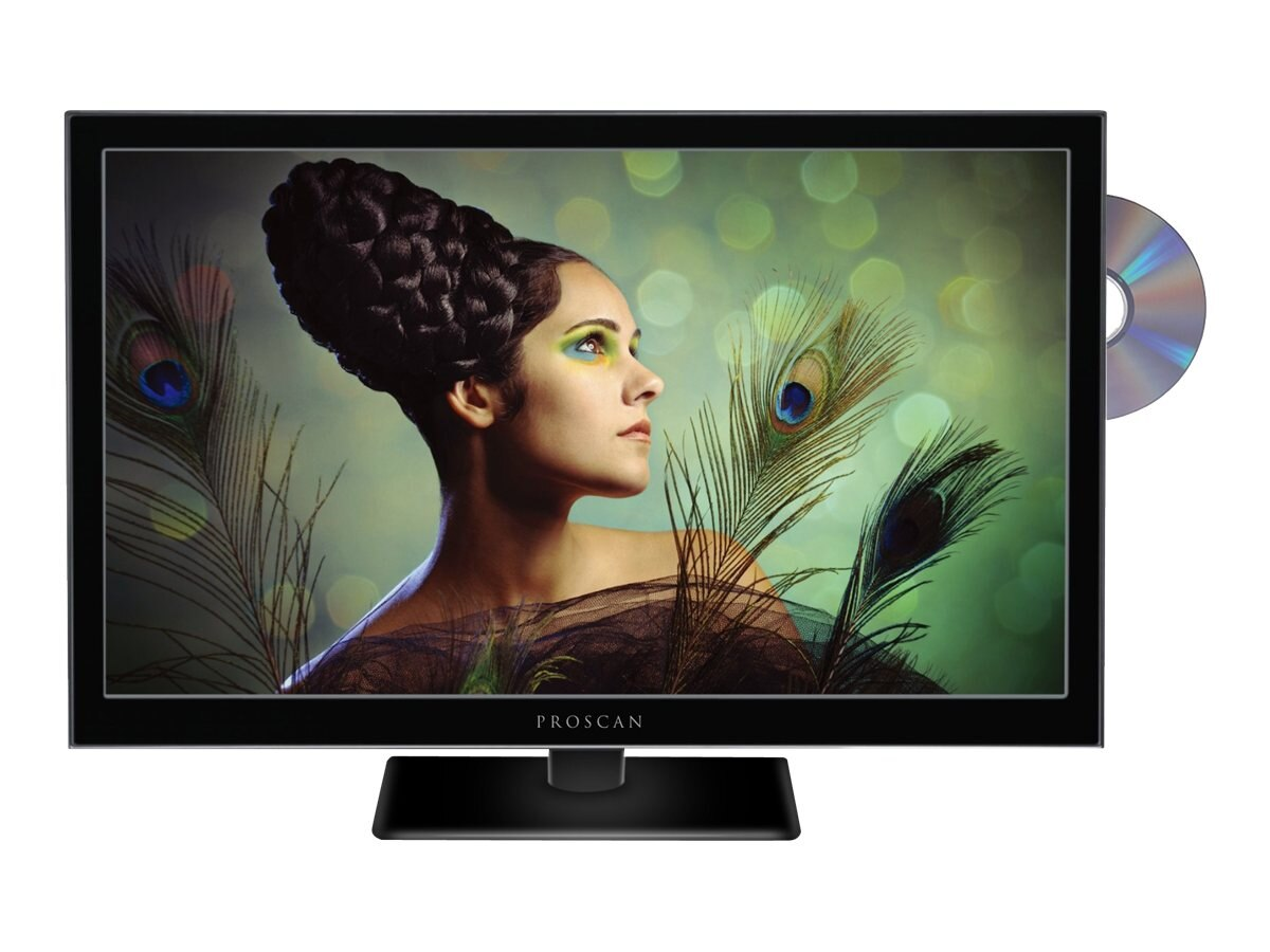 Proscan 24 PLEDV2488A LED-LCD TV with Built-in DVD Player