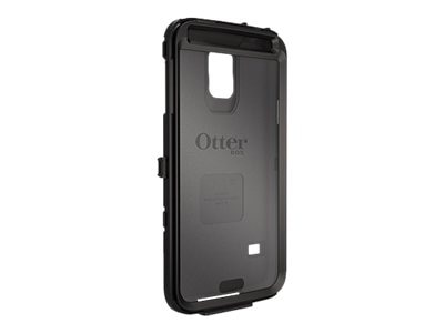 OtterBox Defender Series Plastic Shell for Samsung Galaxy S5, Black, 78-42309, 18622490, Carrying Cases - Phones/PDAs