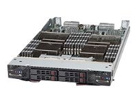 Supermicro Processor Blade SBA-7142G-T4, Quad Opteron 6000, Max 256GB DDR3, 4x2.5 SATA HP, SBA-7142G-T4, 13465000, Servers - Blade