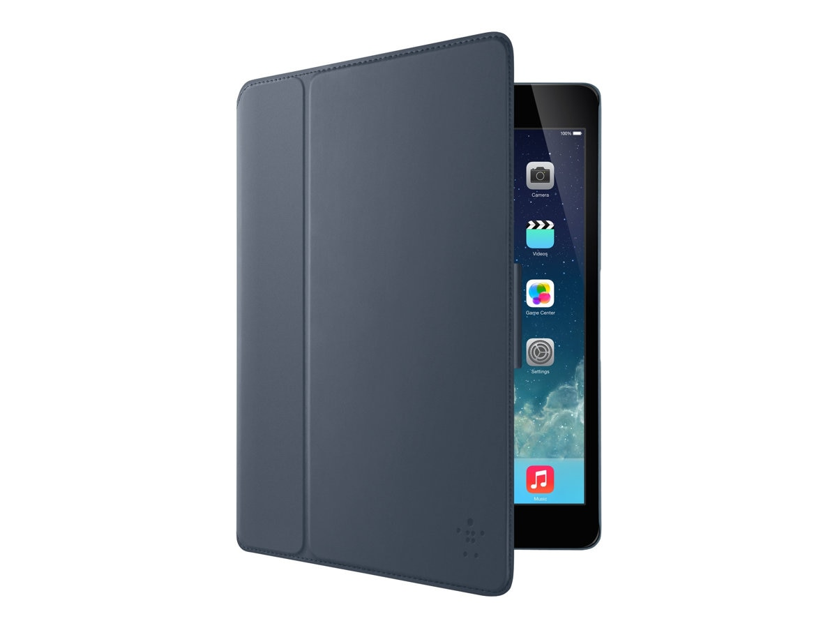 Belkin FreeStyle Cover for iPad Air, Slate, F7N100B1C01, 16484265, Carrying Cases - Tablets & eReaders