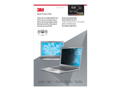 3M 15.6 Widescreen 16:9 Laptop Privacy Filter, PF156W9B