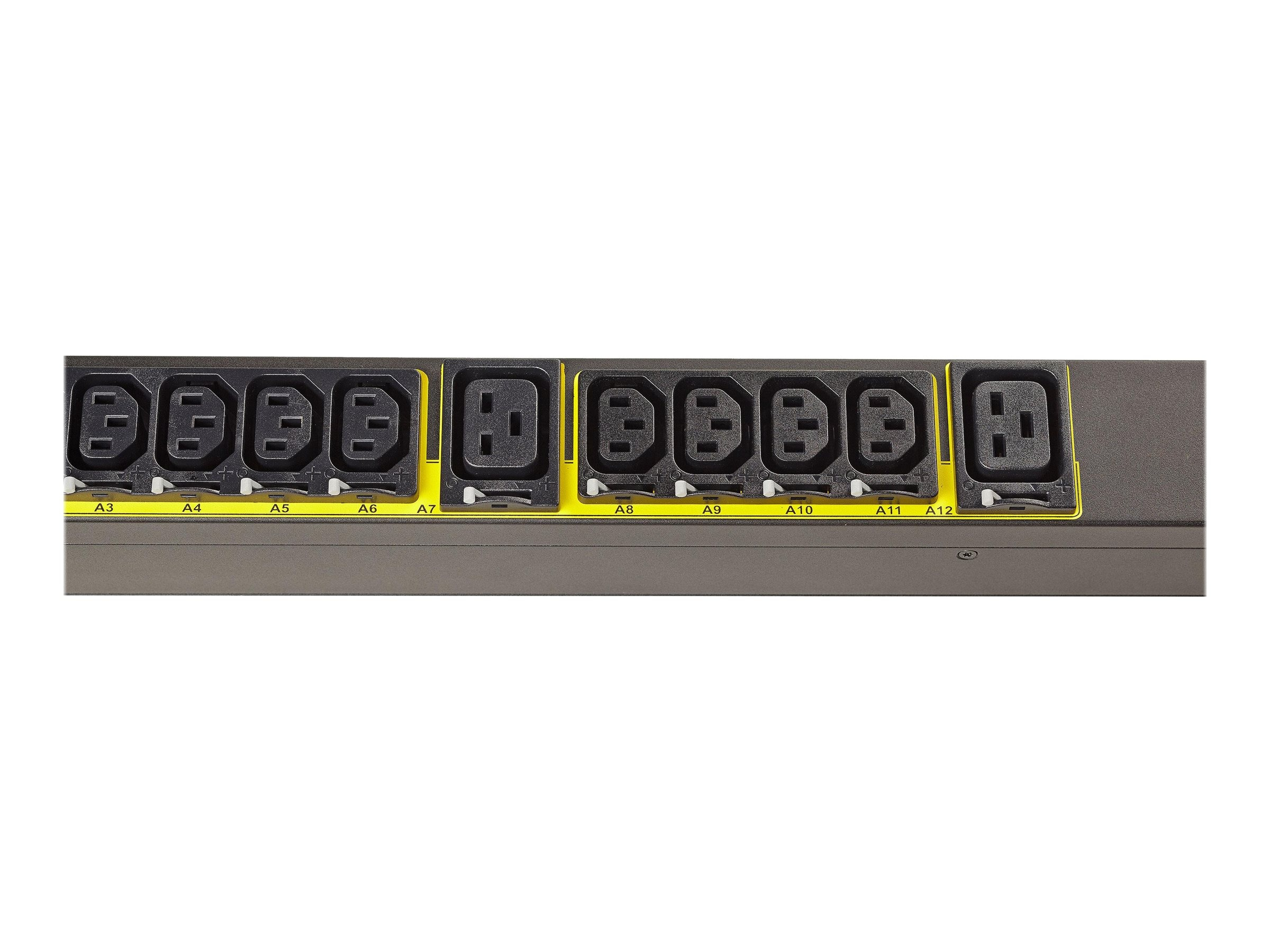 Eaton Managed ePDU 1.92kW 120V 16A 0U 5-20P L5-20P Inputs 10ft Cords (8) 5-20R Outlets, EMA113-10
