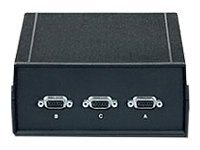 Black Box Chassis B VGA SVGA Switch, (5) Female Ports, SWL785A-FFFFF, 8105747, Switch Boxes - AV