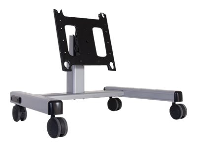 Chief Manufacturing 2ft Large Confidence Monitor Cart Mount, Silver