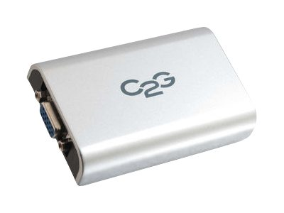 C2G USB to VGA Video Display Adapter Up To 1920 x 1080, 30545, 14599261, Video Extenders & Splitters