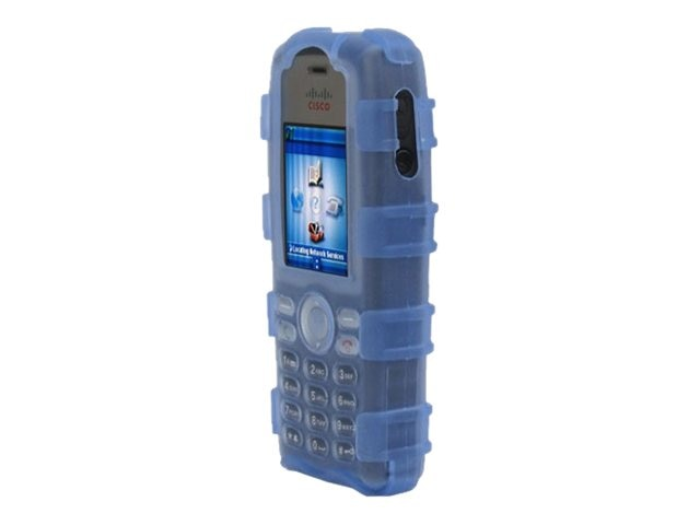 Zcover Silicone Ruggedized Dock-In-Case for Cisco 7925G 7925G-EX, Blue, CI925HCL, 16579707, Carrying Cases - Phones/PDAs