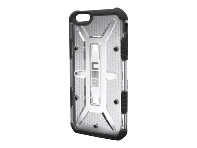 Urban Armor Case w  Screen for iPhone 6 Plus, Ice, UAG-IPH6PLS-ICE-VP